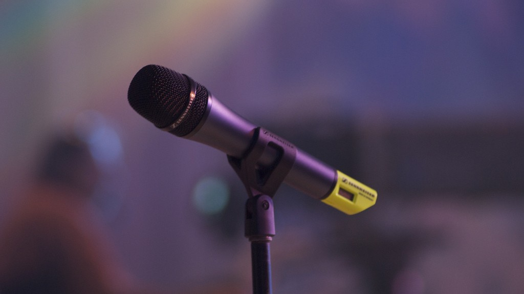 Microphone   © Paul Hudson/Flickr