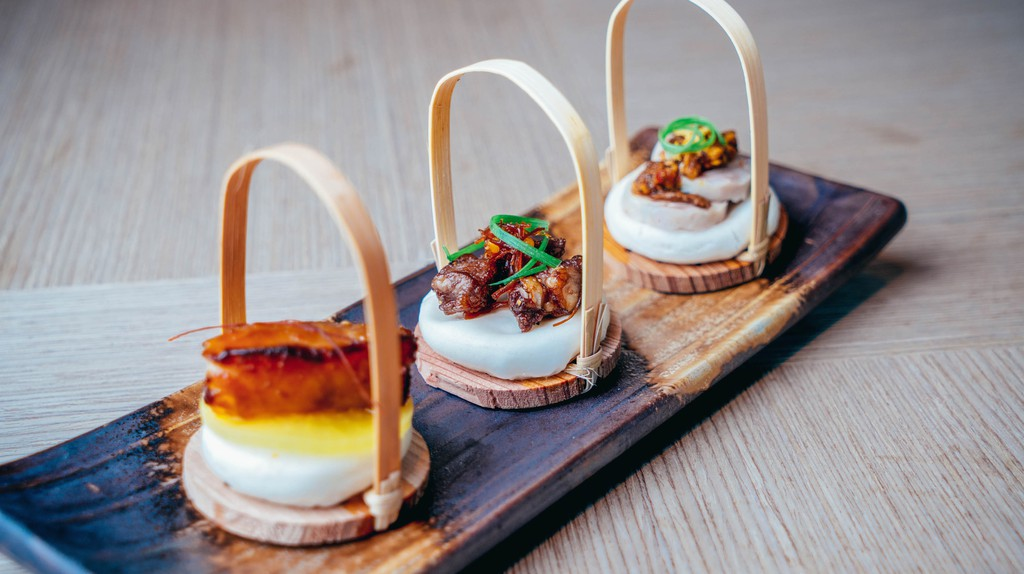 Bao Bites Trio |Courtesy of Bao Bei