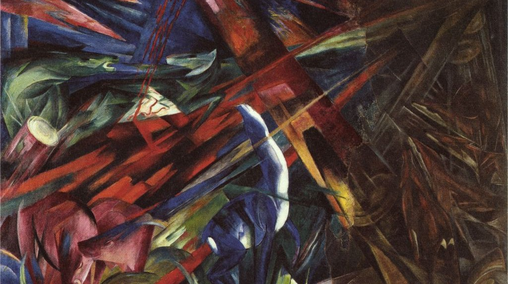 Franz Marc, Fate of the Animals, 1913 | © Cinzing/WikiCommons