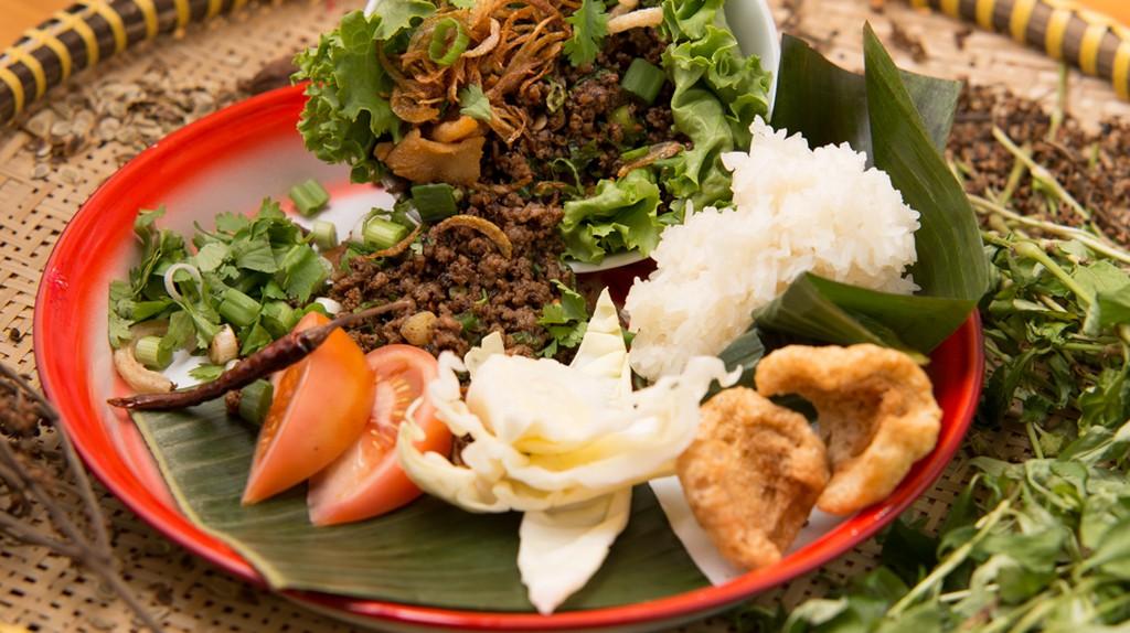 PAI Laab Salad | Courtesy of PAI Toronto