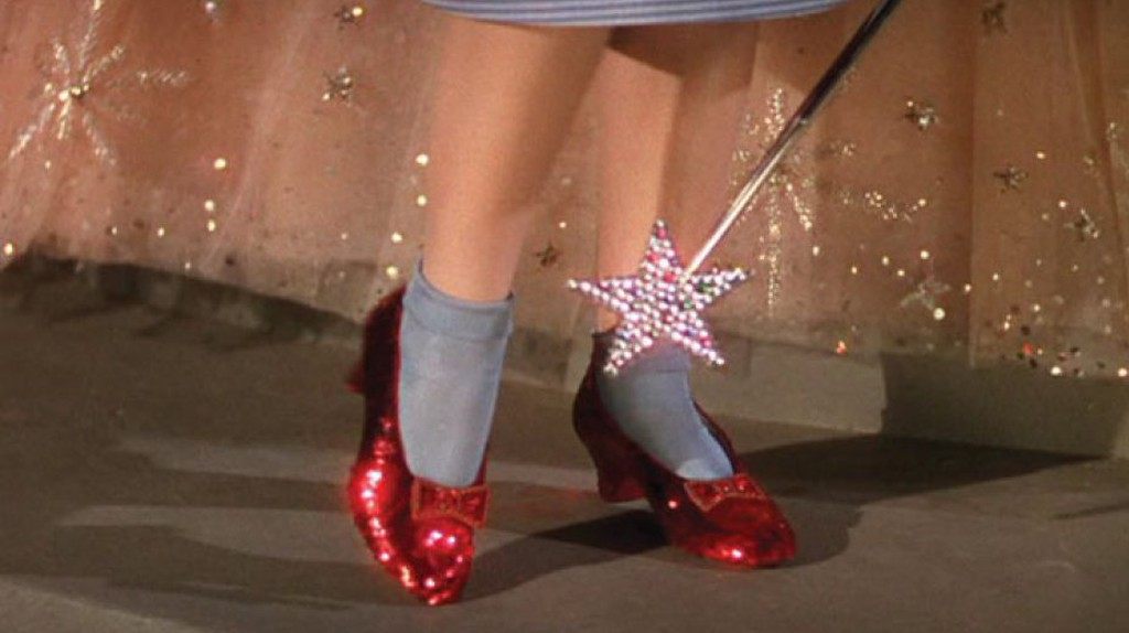 Ruby Slippers, 'Wizard of Oz' | © MGM