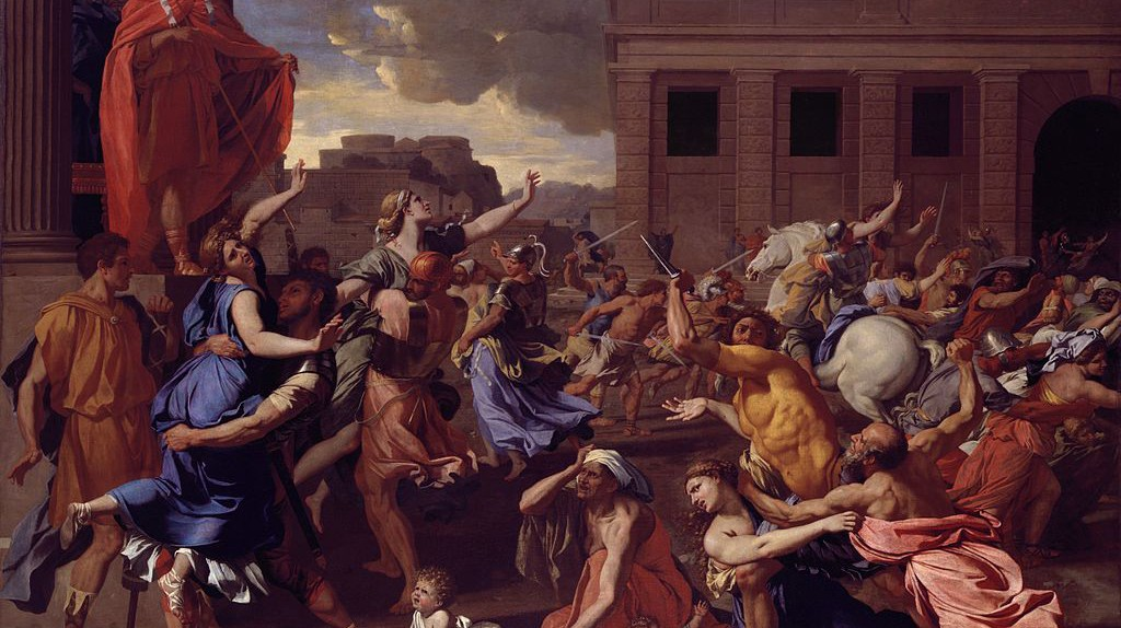 Nicolas Poussin, The Abduction of the Sabine Women | © Metropolitan Museum of Art/WikiCommons