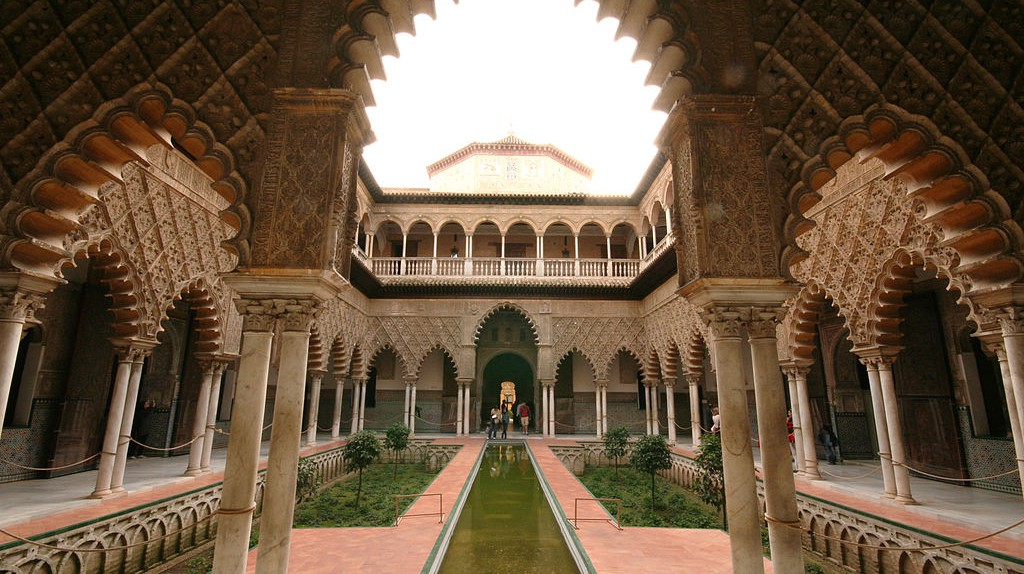 The History Of The Alcázar Of Seville In 1 Minute