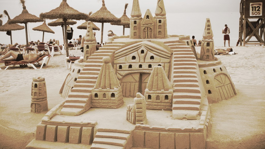 Sandcastle | © Gonçalo Cruz Matos/Flickr
