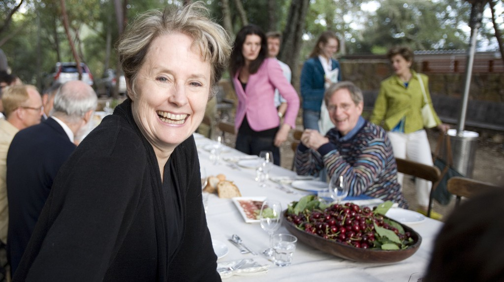 Chef, restaurateur and sustainable food advocate Alice Waters   © David Sifry/Flickr