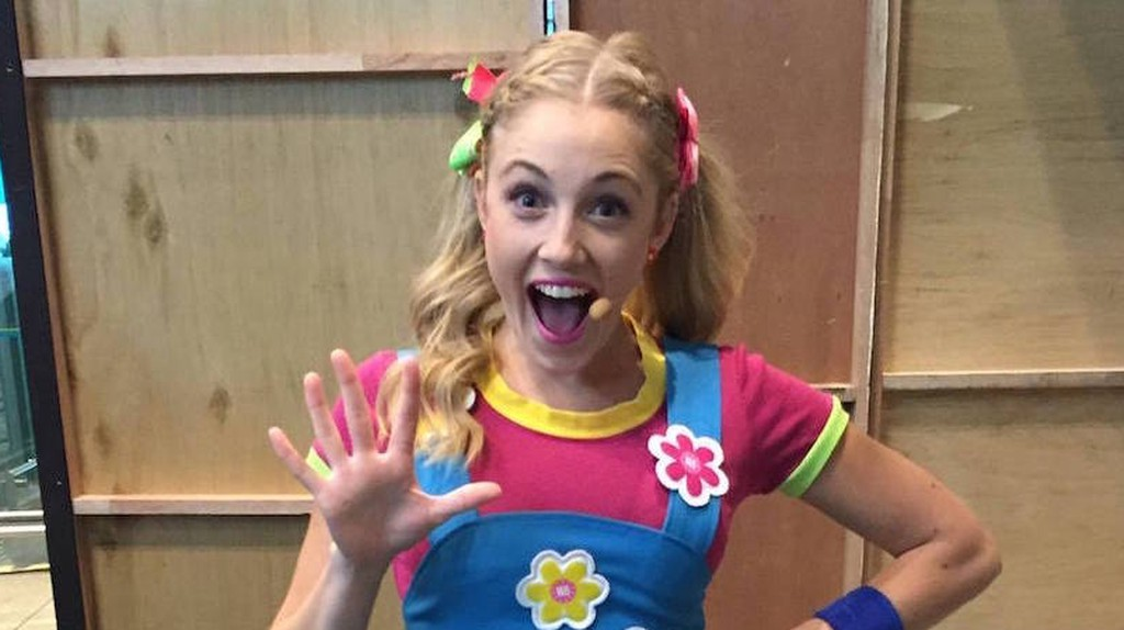 Jessica Redmayne performing for the first time as a Hi-5 member in Singapore. | Courtesy of Jessica Redmayne