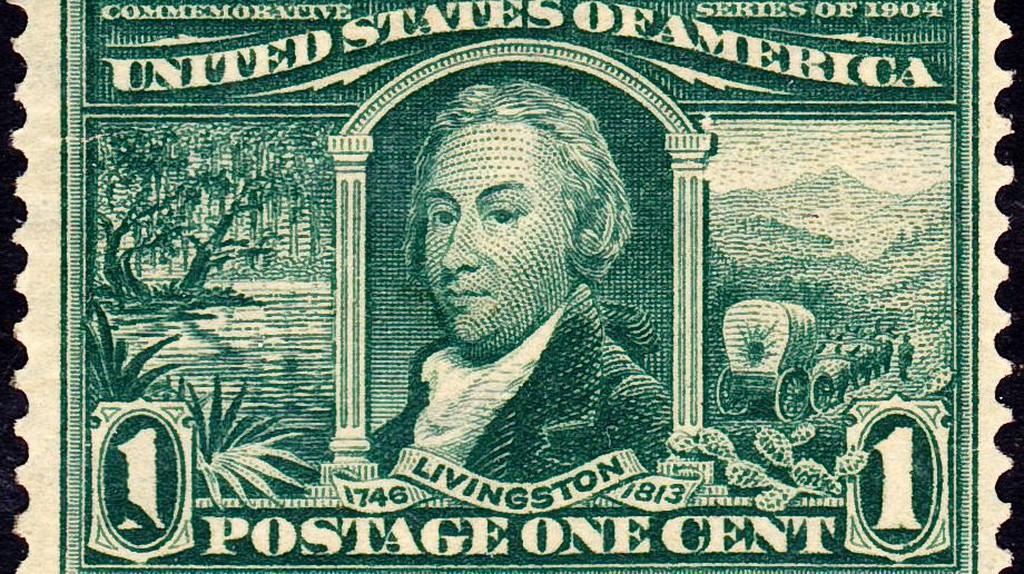 Robert Livingston33 1904 Issue-1c   © US Post Office/WikiCommons