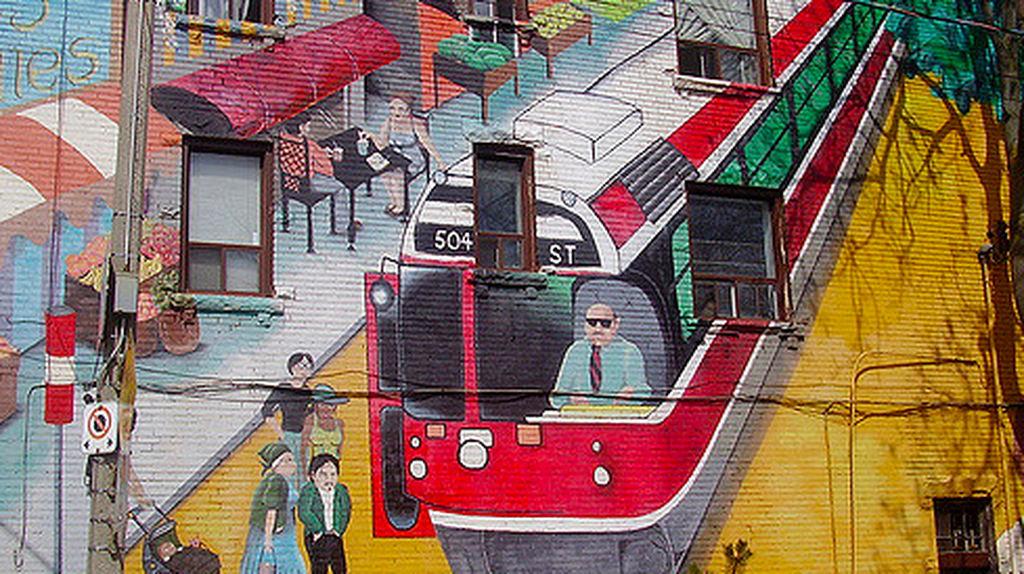 Roncesvalles Mural | © Double Feature/Flickr
