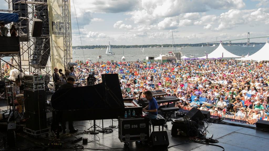 Chick Corea at the 2013 Newport Jazz Festival | © Douglas Mason