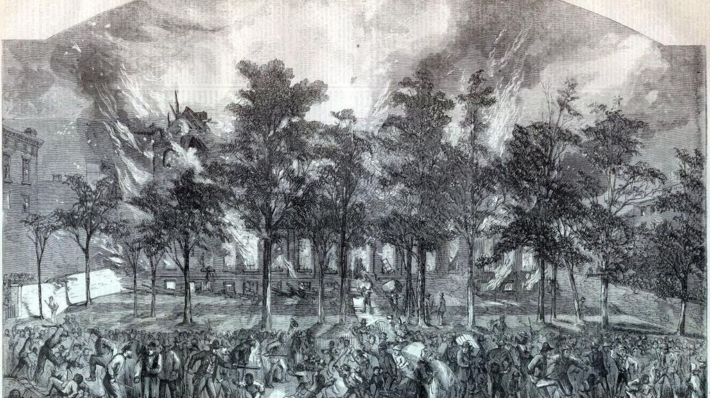 New York Draft Riots Harpers colored asylum   © Harper's Weekly/WikiCommons