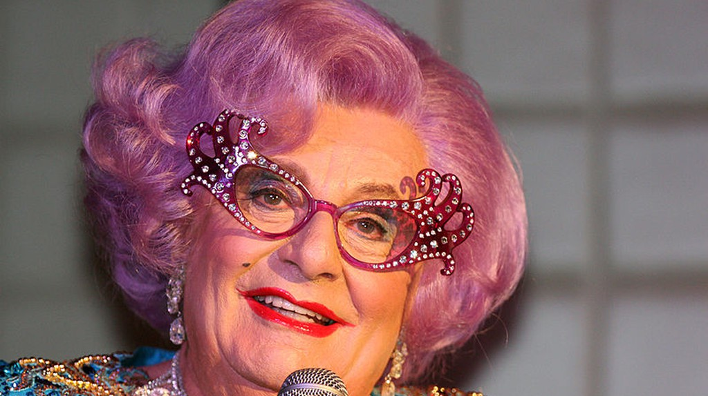 The Many Faces Of Barry Humphries