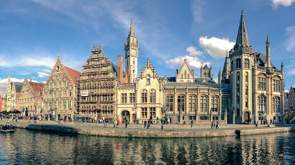 The historic city of Ghent in all its glory   © Mislav Marohníc/Flickr