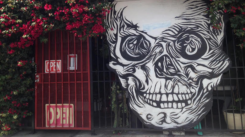 Exterior view of the Museum of Death | Courtesy of Stephen A. Cooper