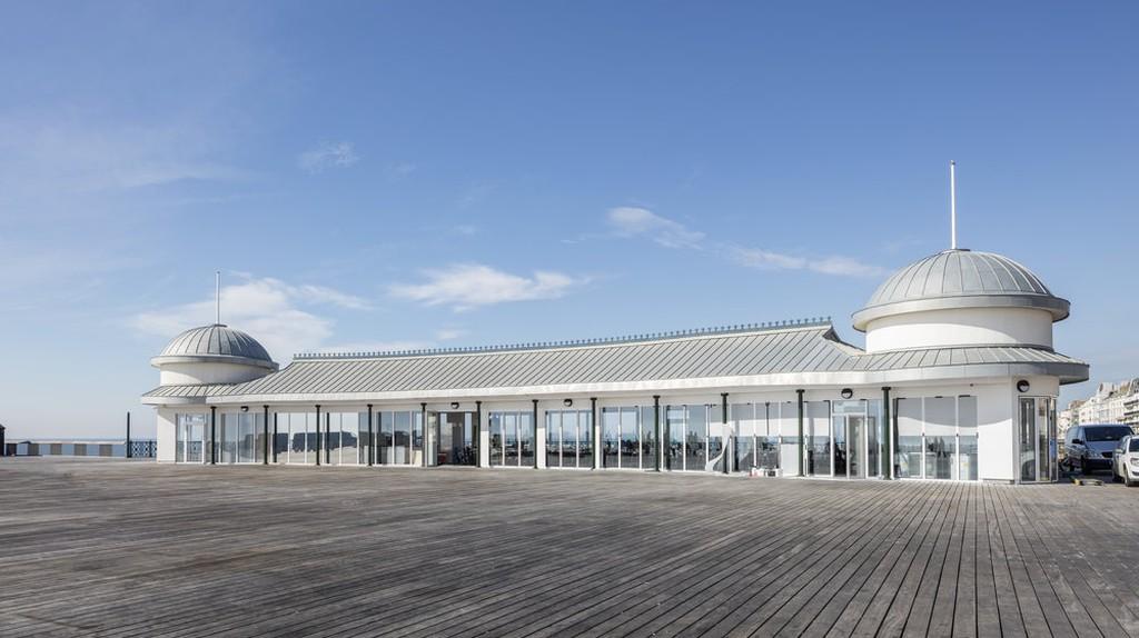 The renovated Hastings Pier  ©Daniel Shearing/Courtesy of Ramboll