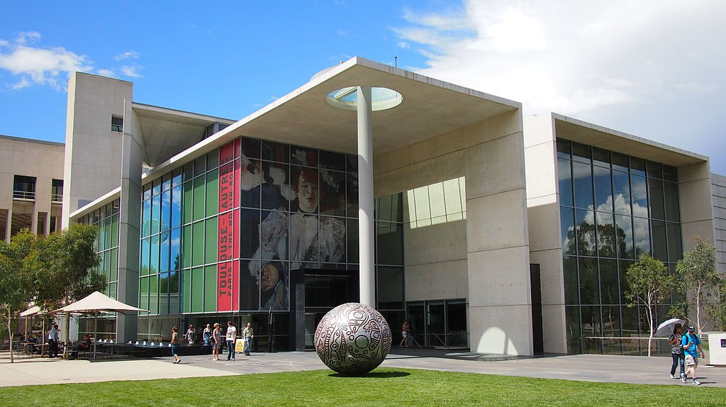 National Gallery of Australia   © Nick-D/WikiCommons