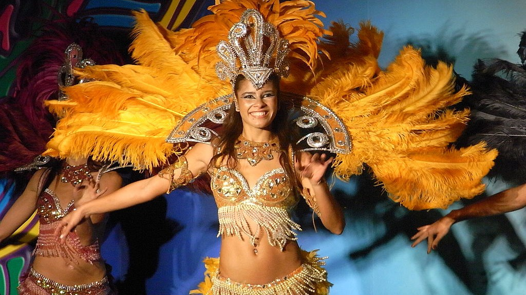 Samba dancer, the most well-known music in Brazil  © PlidaoUrbenia/WikiCommons
