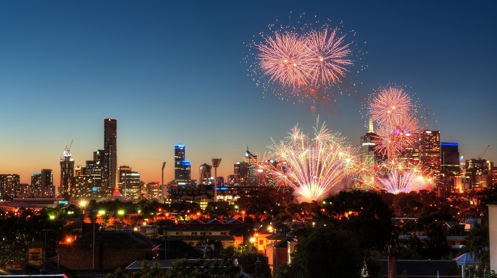 Melbourne New Year Early Eve ©Chris Phutully