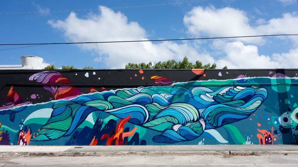 Wynwood, Miami, is home to some of the most creative street art in the world | Kent Wang/Flickr