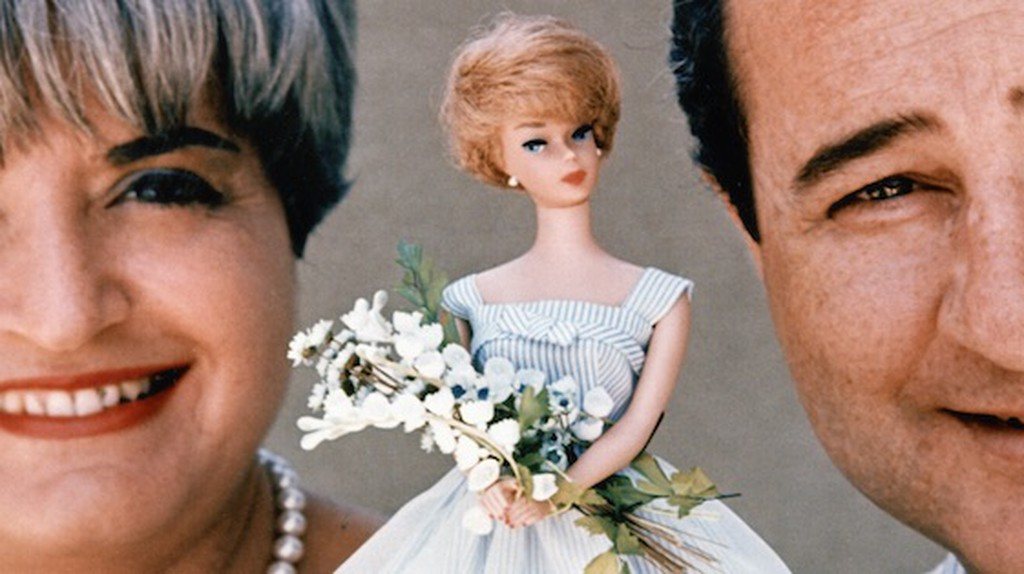 The Handlers and Barbie, courtesy of Mattel