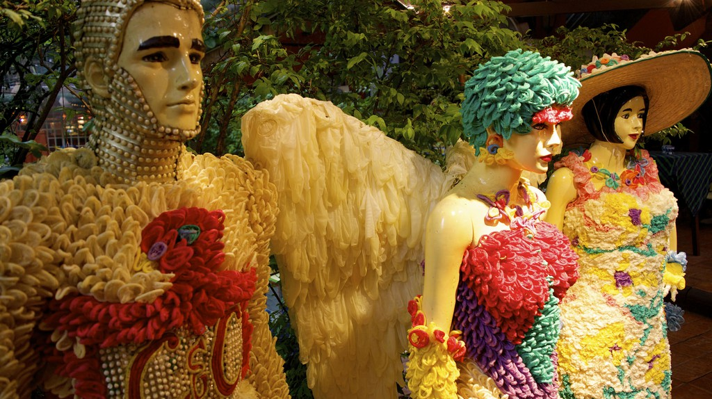 Condom-Themed Mannequins Inside Cabbages & Condoms/Courtesy of Kelly Iverson