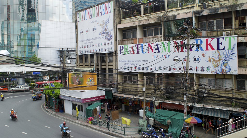 Pratunam Market/Courtesy of Kelly Iverson