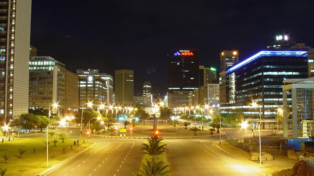 Adderley Street, Cape Town at night © Damien du Toit/Flickr