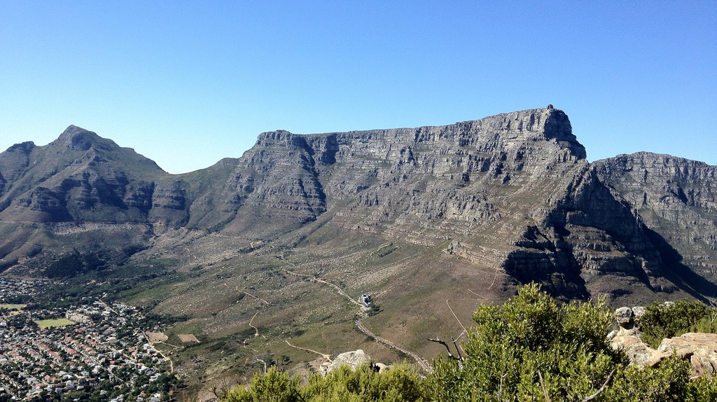Table Mountain, Cape Town © Bronson Harrington/Flickr