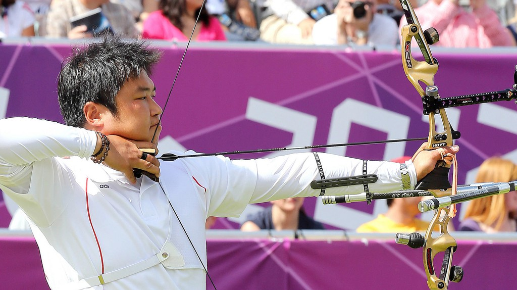 Korea Oh Jin Hyek won the gold medal in men's individual archery at London 2012 | © Republic of Korea @ flickr.com