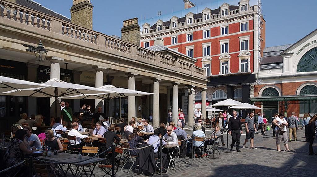 Covent Garden Plaza|©mattbuck/Wikicommons