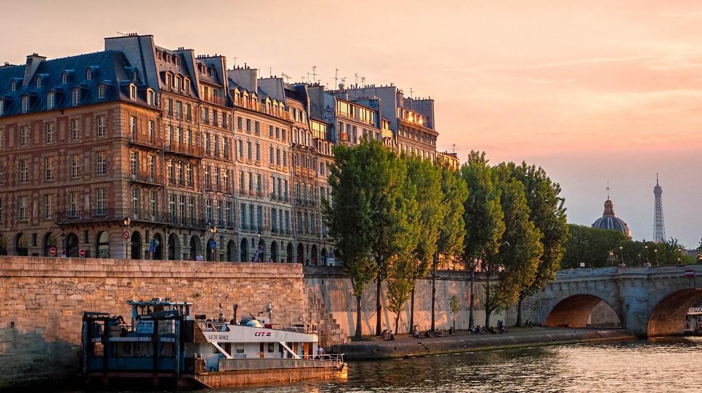 The Île de la Cité © Joe deSousa/Flickr