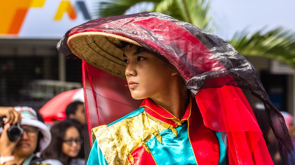 2015 Chinese New Year Fashion Show, Sudirman Street, Yogyakarta