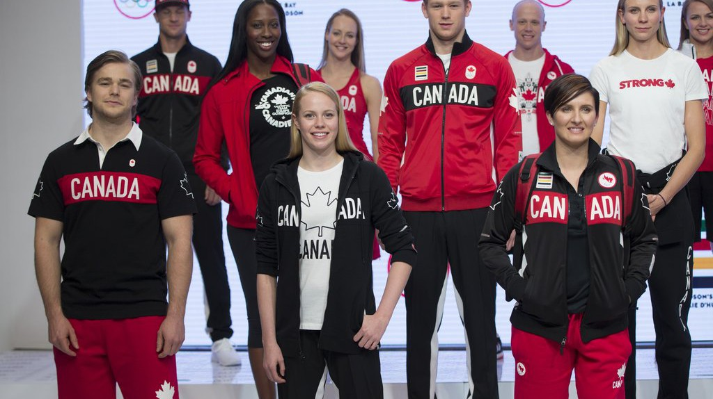 The Canadian Olympic uniform  © Canadian Olympic Committee