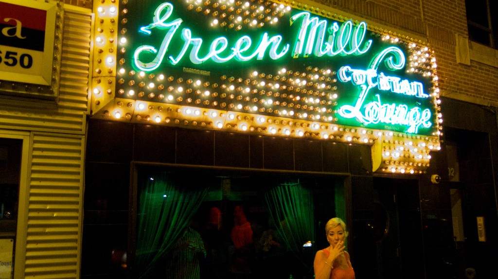 The Green Mill, courtesy of Flickr: BriYZZ