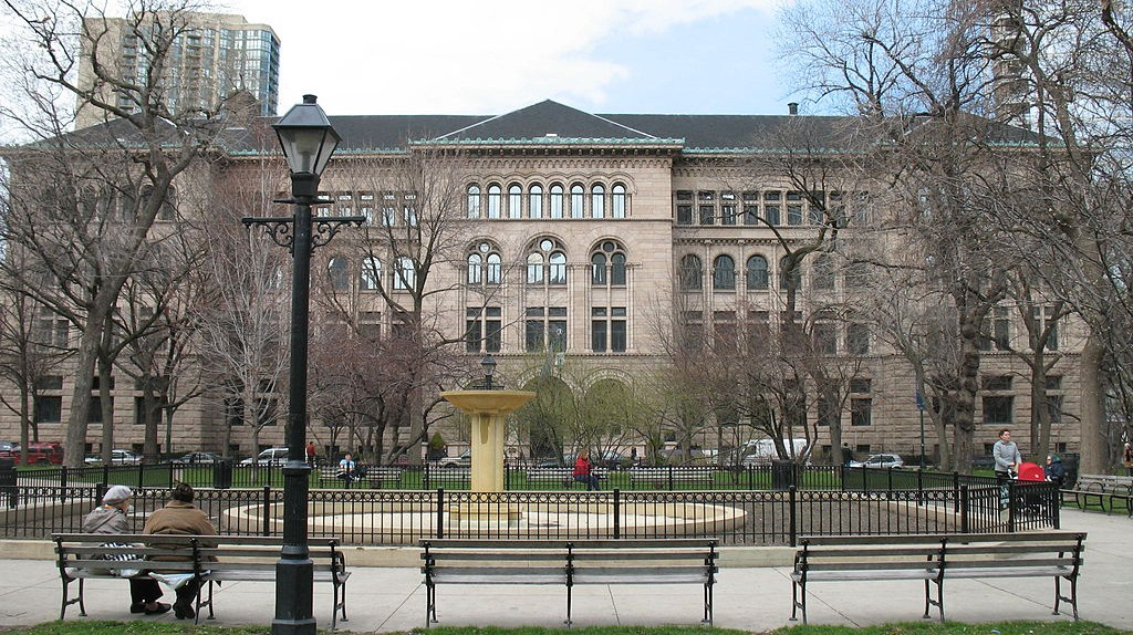 A Brief History Of The Newberry Library, Chicago