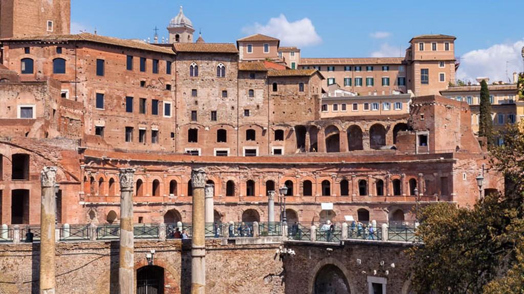 Trajan's Market | ©Flickr/Stefano Lovato