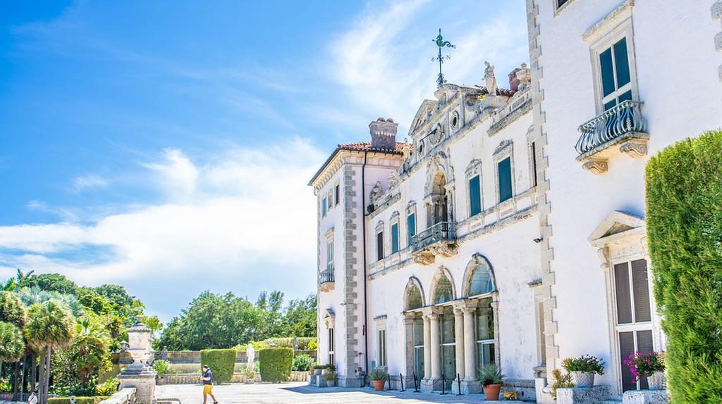 The Vizcaya Villa, one of Miami's most historic landmarks