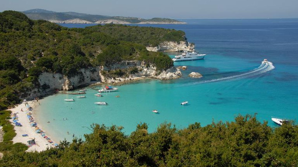 Voutoumi Beach, Antipaxos