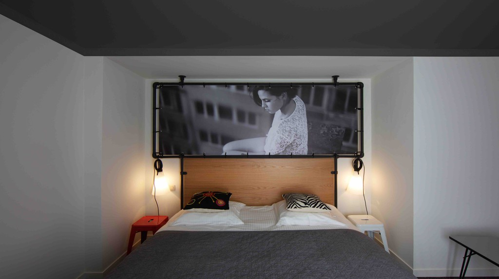 The Zoom Hotel, boasting a unique photograph taken in Brussels in every single room, is just one of many original places to stay near the Matongé quarter | Courtesy of Zoom Hotel