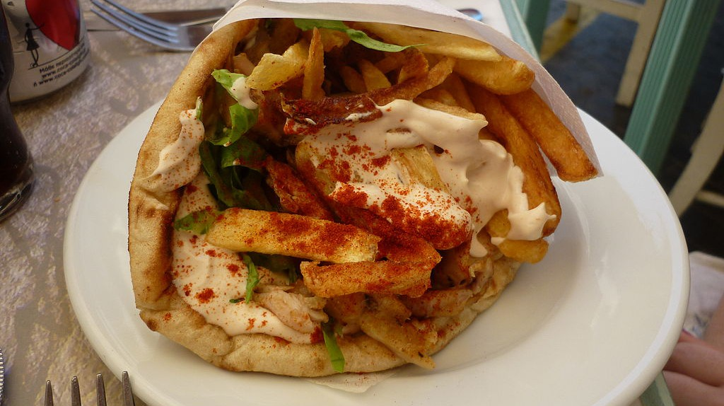 Pita gyros |  ©André Loconte/WikiCommons