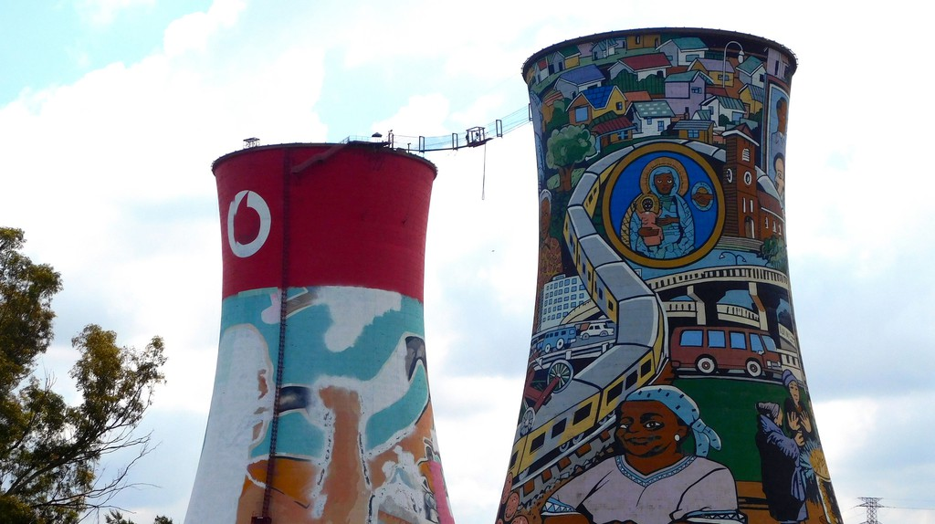 Orlando Towers, Johannesburg © Adamina/Flickr