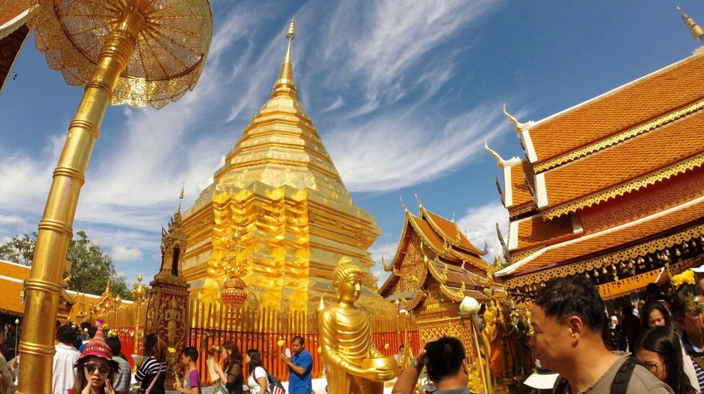 Wat Phra That Doi Suthep in Chiang Mai | © Courtesy of Kelly Iverson