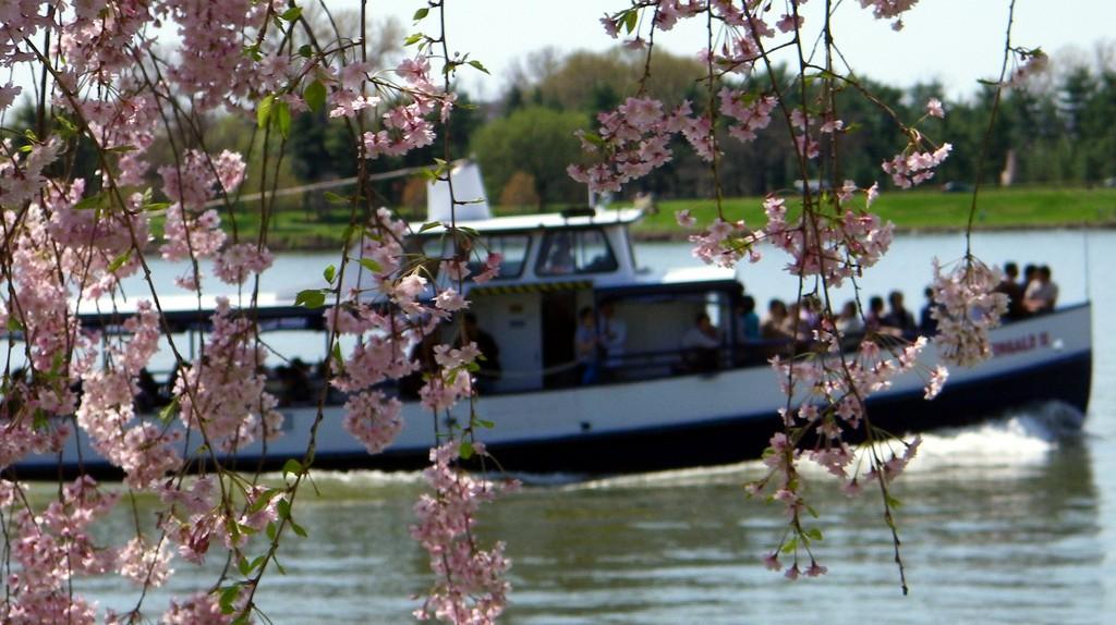 Tour Boat On The Potomac River | ©Alan Kotok/Flickr