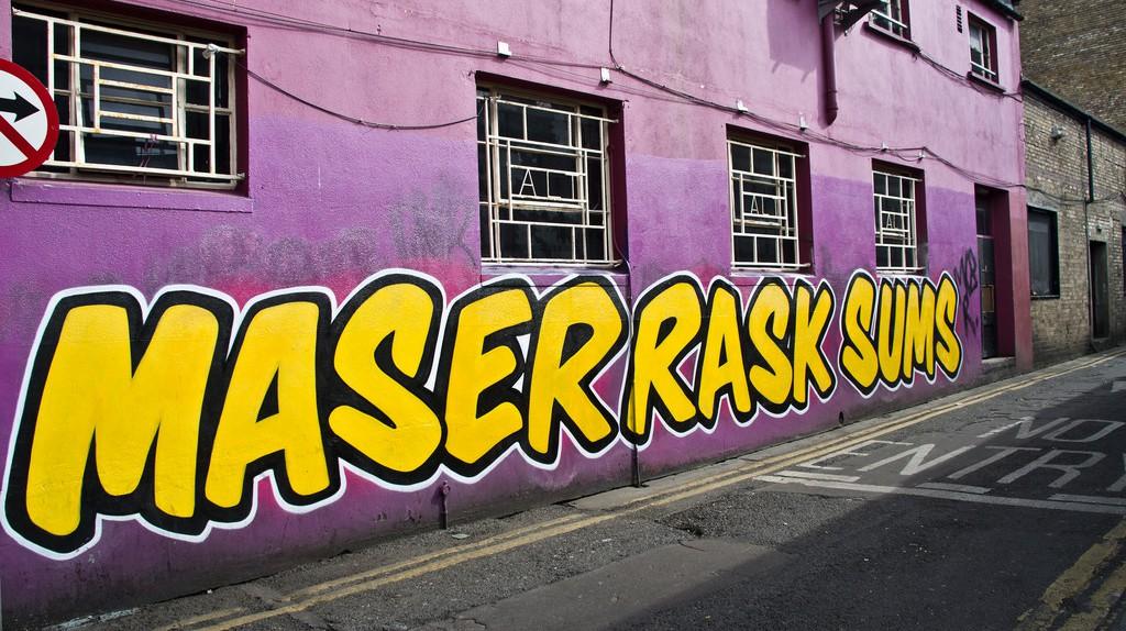 Maser street art in Dublin | © William Murphy/Flickr