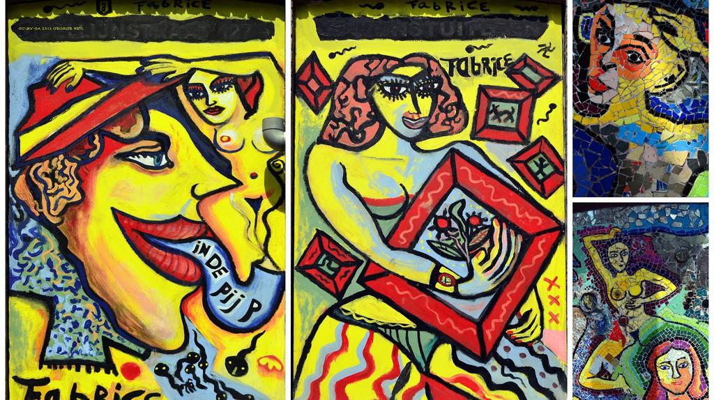 A murale in de Pijp   © George Rex / Flickr
