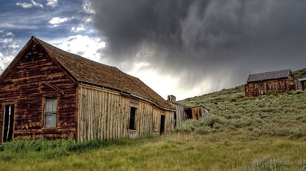 Bodie Ghost Town Storm | © Photographersnature/WikiCommons