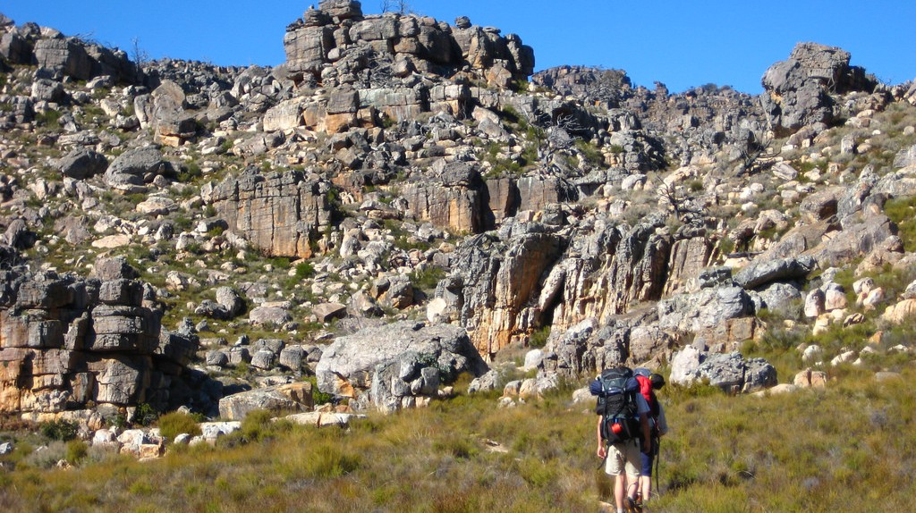 Hiking in the Cederberg Mountains   © Brian Burger