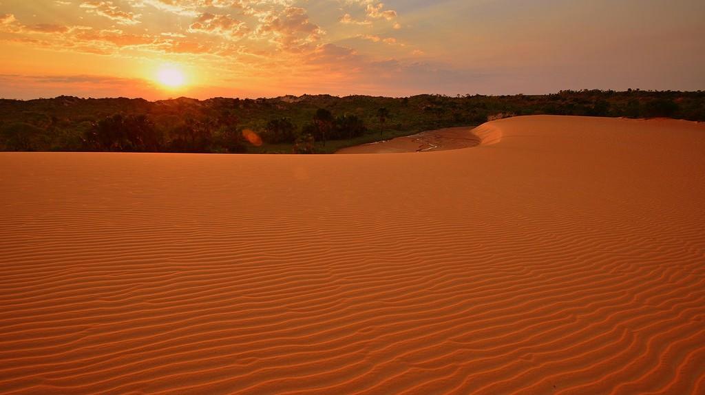 Sand dunes in Jalapão |© A. Duarte/Flickr