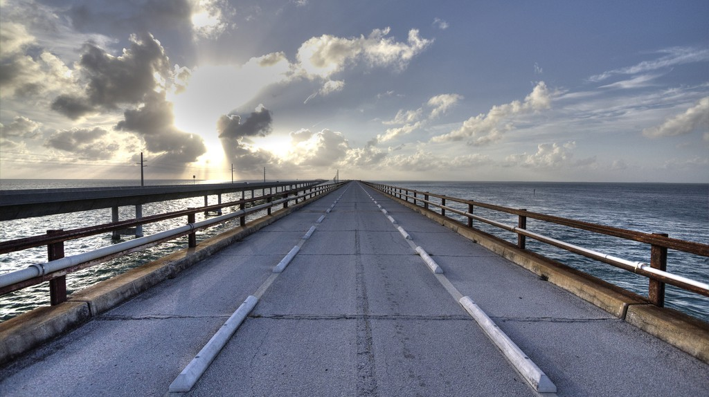 The beautiful Seven Mile Bridge, Florida Keys | © Allen McGregor/flickr