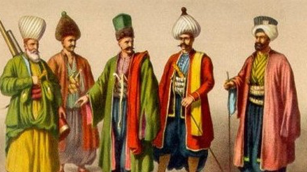 Formal wear of the Ottomans | Wikimedia Commons