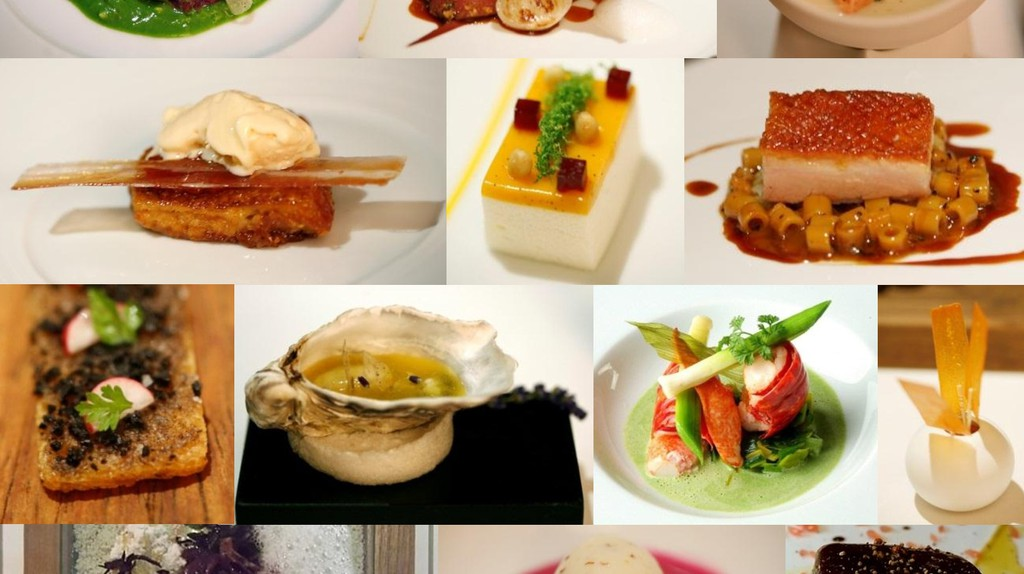 Dishes made by Michelin star restaurants | © Charles Haynes/WikiCommons